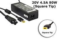 Блок питания для ноутбука Lenovo 20V 4.5A 90W (Square Type) ADLX45NLC3A, E431, E531, T440p, T440s, T431s, T540