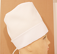 Колпак медицинский с отворотом женский( высота -17 см )