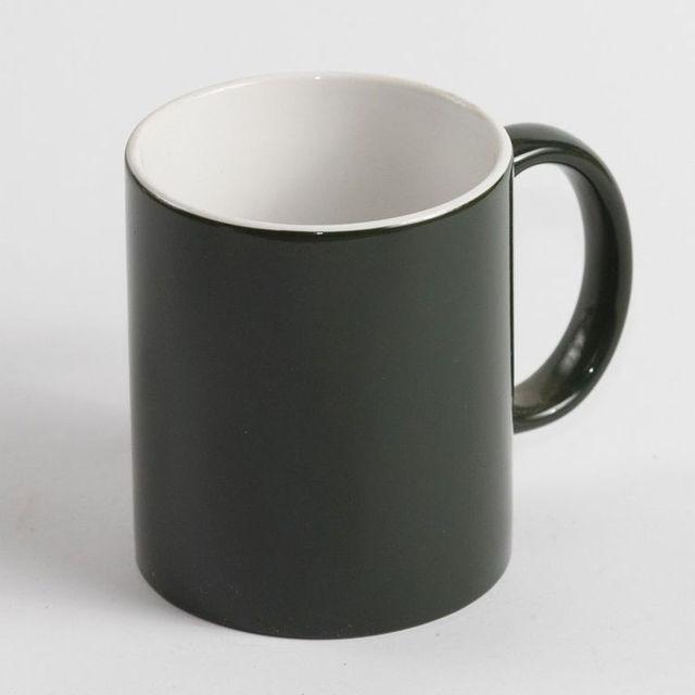 Чашка для сублимации хамелеон МАТОВЫЙ 330 мл (зелёный)