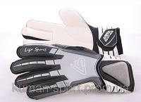 Перчатки вратарские LIGA SPORT G-22 черные , фото 1