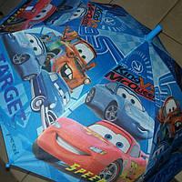 Зонт трость для мальчика тачки, фото 1