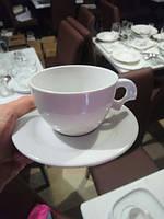 Чашка с блюдцем 250мл фарфор