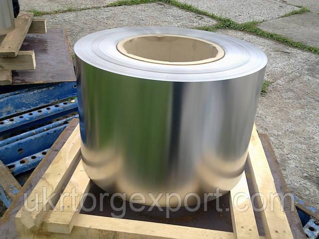Лента нержавеющая ( пр-во ЕС ) 0,3мм*400мм материал: 1,4541 (AISI 321, 08Х18Н10Т) мягкая
