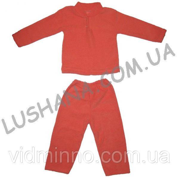 Махровая пижама Домашняя на рост 80-86 см - Махра