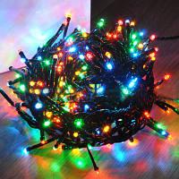 Новогодняя гирлянда multi 500 ламп мульти 15 метров8 режимов мигания