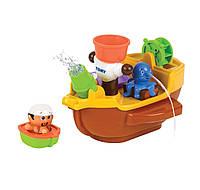 """Игрушка для ванной Tomy """"Пиратский корабль"""""""