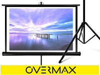 """Великий плакат під проектор """"TRIPOD OVERMAX"""