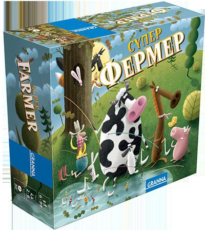 Настольная игра Супер Фермер (Super Farmer) (UKR) Granna