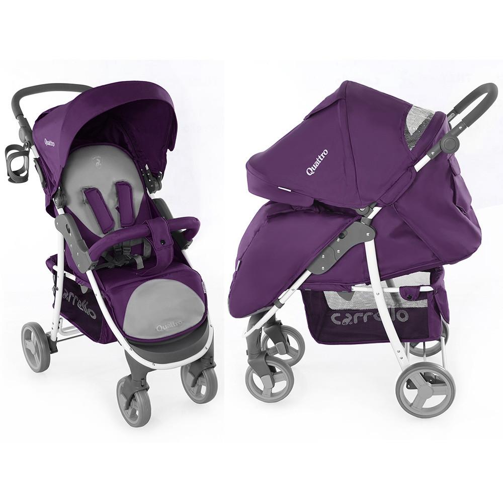Коляска прогулочная Carrello Quattro CRL-8502 фиолетовая