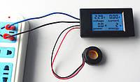Измеритель,Напряжения,Тока,Ваттметр, PeaceFair PZEM-061 LCD AC80-260V, 100A, фото 1