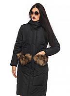 Куртка-парка женская с капюшоном