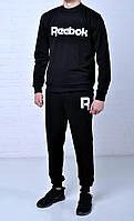 Мужской спортивный костюм Reebok Classic черный найк / nike