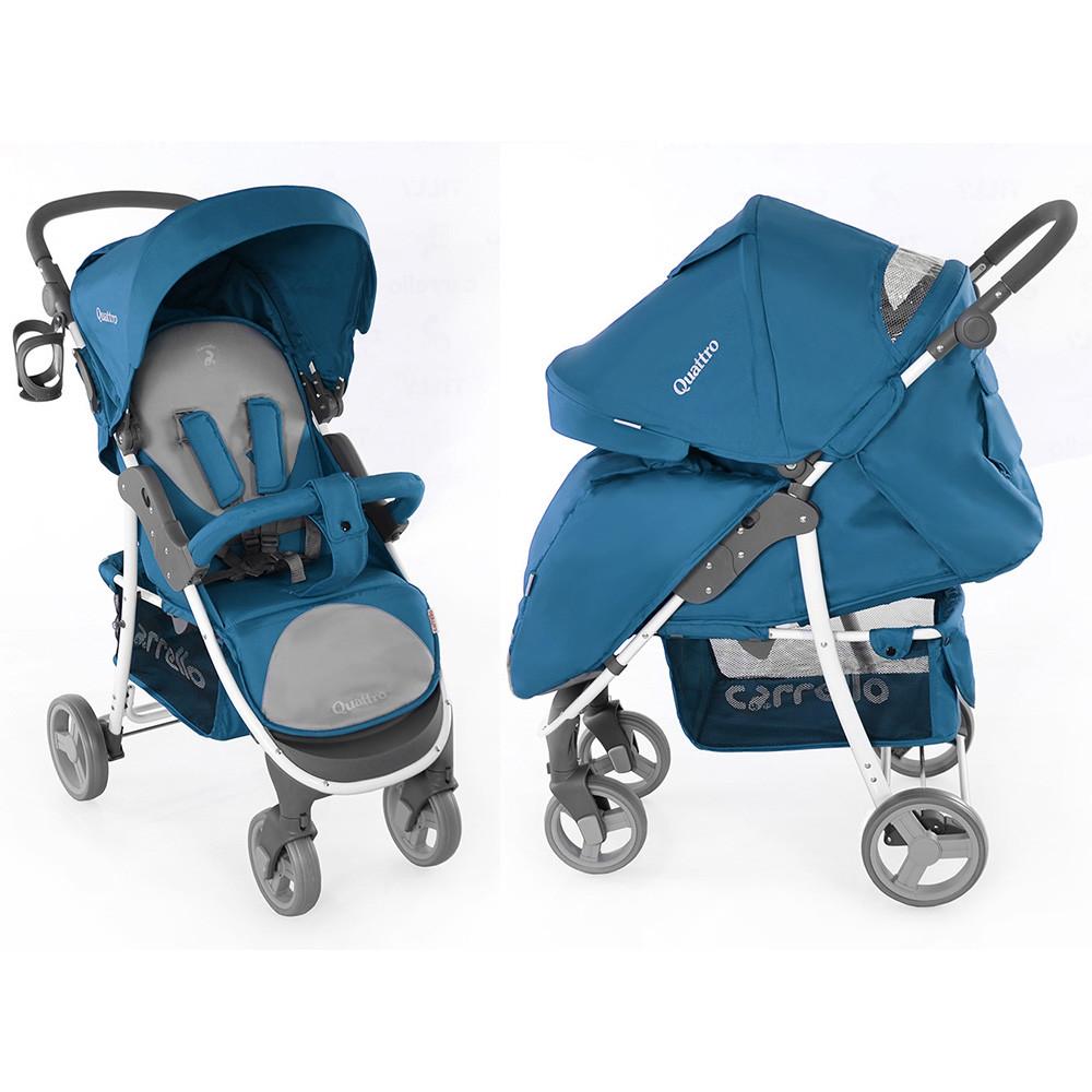 Коляска прогулочная Carrello Quattro CRL-8502 синяя