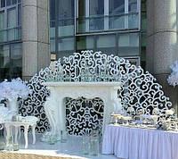 Ширма весільна різьблена.