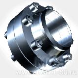 Фланець комірний сталевий приварний встик ГОСТ 12821-80 ДУ 250 РУ 63, фото 5