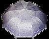 Женский стильный зонт, полуавтомат фиолетовый MAXYудобный