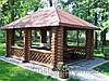 Беседки из дерева для дома и дачи