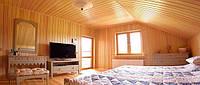 Внутренняя отделка деревом домов, квартир