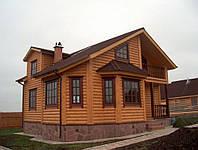 Наружная отделка фасадов блок-хаусом, фото 1