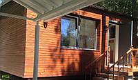 Отделка фасадов, наружная отделка дома деревом