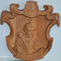 Сувенирное изделие из дерева «Богдан Хмельницкий»