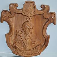 Сувенірний виріб з дерева «Богдан Хмельницький», фото 1