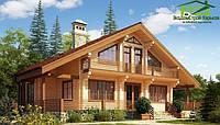 Деревянный дом. Строительство дома из клееного бруса в Харькове