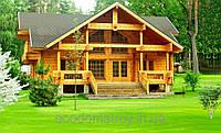 Деревянный дом. Строительство дома из клееного бруса