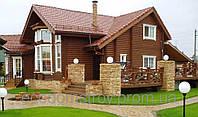 Дом из сруба. Строительство деревянных домов, срубов (деревянная часть), фото 1