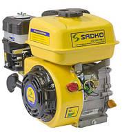 Двигатель бензиновый Садко GE-200PRO (6,5 л.с., шлиц Ø20мм, L=30мм, фильтр в масл. ванне) + доставка
