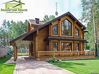 Деревянный дом. Строительство дома из профилированного бруса, фото 1