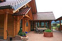 Деревянный дом. Строительство домов из профилированного бруса в Киеве, фото 1