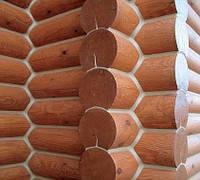 Утепление стен деревянного дома, заделка швов