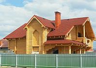Дом из сруба. Строительство срубов домов под ключ в Харькове