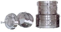 Коробка стерилизационная круглая КСК-3 бикс