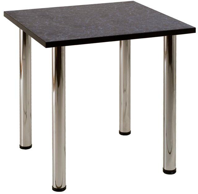 Стол для кафе обеденный на хромированных ножках (800*800*750h). Столы для кафе и столовых