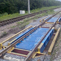 Весы вагонные (железнодорожные) ТВВ