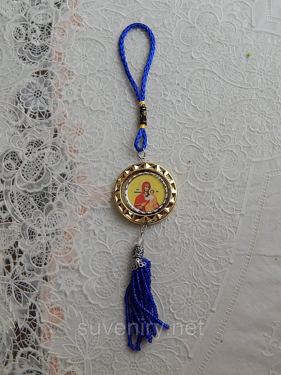 Автомобильная подвеска с иконкой православная