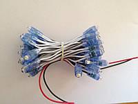 Светодиод быстрого монтажа JL 0,1W, 12В, IP65 6500К белый