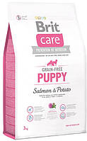 Brit Care GF Puppy Salmon & Potato 3 kg для цуценят