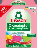 Фрош - порошок для стирки цветного белья с экстрактом Граната  Frosch Oeoc Granatu 1.35 кг, фото 2