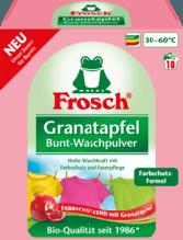Порошок Фрош Гранат для стирки цветного белья  Frosch Owoc Granatu 1.35 кг