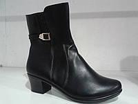 Сапоги женские на низком каблуке,деми.р.37.41.