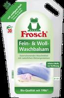 Фрош - бальзам для стирки нежных тканей Frosch Fein-Woll Waschbalsam 1800 мл