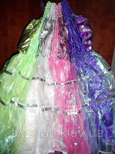 Платье бальное (4 цвета-хамелеон)