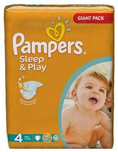 Подгузники Pampers Sleep & Play размер  4 Maxi (7-14 кг)  50 шт.
