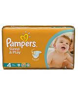 Pampers Sleep and Play подгузники 4(7-14кг),50 шт