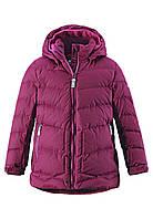 Зимняя куртка - пуховик для девочки Reima LIKKA. Размеры 122 - 164., фото 1