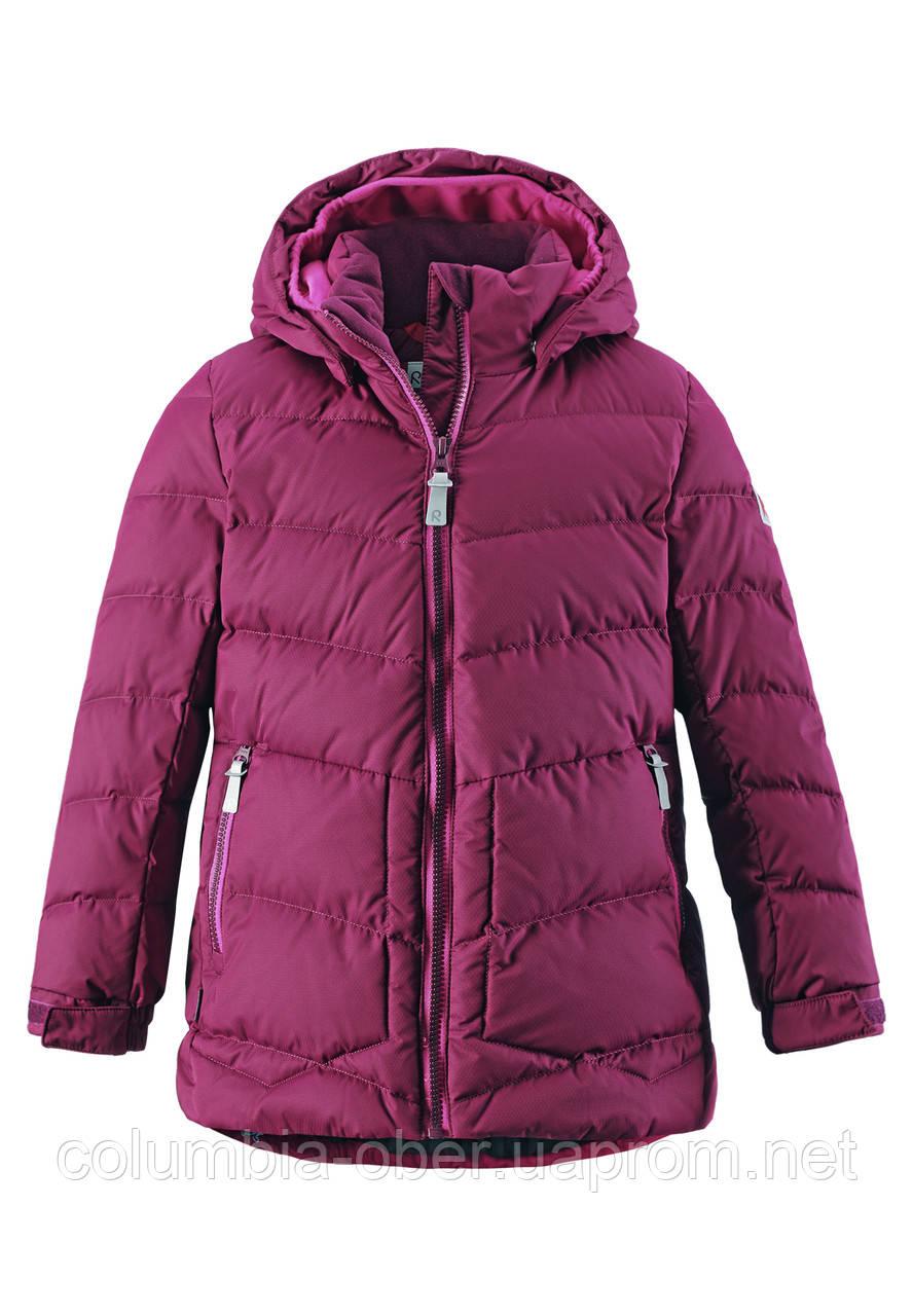 Зимняя куртка - пуховик для девочки Reima LIKKA. Размеры 122 - 164.