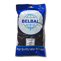 """Воздушные шары Belbal пастель 12""""(30 см) черный 50 шт"""
